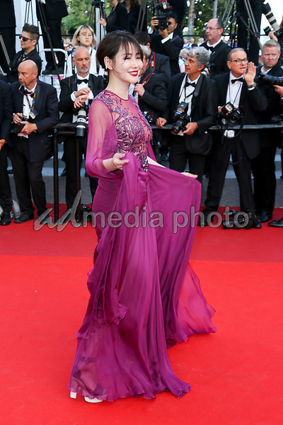"""24 May 2017 - Cannes, France - Zuo An Xiao . """"The Beguiled"""" Premiere - The 70th Annual Cannes Film Festival. Photo Credit: Georg Wenzel/face to face/AdMedia"""