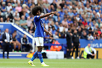 Hamza Choudhury of Leicester City during Leicester City vs Wolverhampton Wanderers, Premier League Football at the King Power Stadium on 11th August 2019