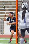 Redondo Beach, CA 05/14/11 - Molly Wang (St Margaret #13) in action during the 2011 Division 2 US Lacrosse / CIF Southern Section Championship game between Cate School and St Margaret.