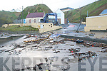 Sunday Night's Storm: Debris  on the women's beach  in Ballybunion.