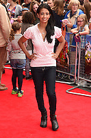 "Konnie Huq arriving for the premiere of ""Pudsey the Dog the movie"" at the Vue cinema, Leicester Square, London. 13/07/2014 Picture by: Steve Vas / Featureflash"