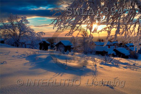 Landschaften, Weihnachten, paisajes, Navidad
