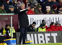 Crystal Palace manager Roy Hodgson shouts instructions to his team from the technical area<br /> <br /> Photographer Rich Linley/CameraSport<br /> <br /> The Premier League - Burnley v Crystal Palace - Saturday 30th November 2019 - Turf Moor - Burnley<br /> <br /> World Copyright © 2019 CameraSport. All rights reserved. 43 Linden Ave. Countesthorpe. Leicester. England. LE8 5PG - Tel: +44 (0) 116 277 4147 - admin@camerasport.com - www.camerasport.com