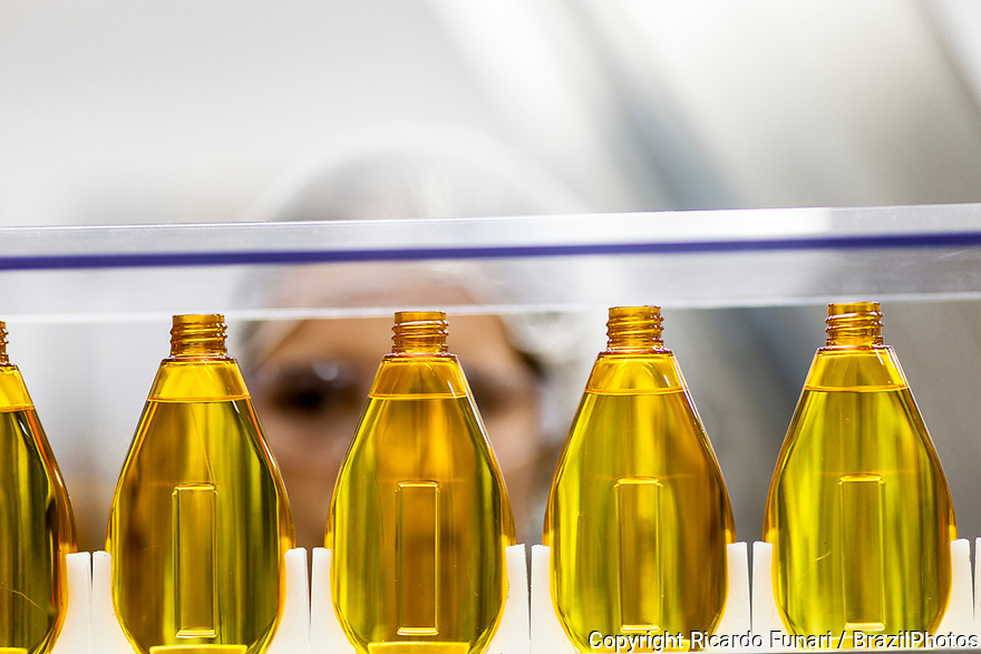 Multinational cosmetics company headquartered in France L`Oreal plant in Rio de Janeiro, Brazil - Production line.