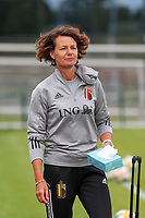 20200605 - TUBIZE , Belgium : Physiotherapist Fabienne Van De Steene<br /> ictured during a training session of the Belgian national women's soccer team called the Red Flames during their after Corona – Covid training week, on the 5 th of June 2020 in Tubize.  PHOTO SEVIL OKTEM| SPORTPIX.BE