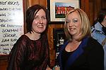 Lisa Faulkner and Sandra Meade in McPhails...Photo NEWSFILE/Jenny Matthews..(Photo credit should read Jenny Matthews/NEWSFILE)