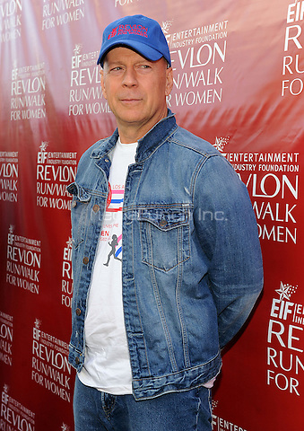 LOS ANGELES - MAY 10: Bruce Willis at the 21st Annual EIF Revlon Run/Walk For Women at Los Angeles Memorial Coliseum at Exposition Park on May 10, 2014 in Los Angeles, California.  PGMicelotta/MediaPunch
