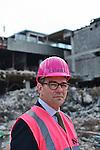 Nederland,Utrecht, 07-05-2013 Gerard Groener CEO  CORIO gefotografeerd op het deel van Hoog Catharijne dat wordt gesloopt.   FOTO: Gerard Til
