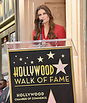 Irina Menzel -Star WofF 046  ,  Kristen Bell And Idina Menzel  Honored With Stars On The Hollywood Walk Of Fame on November 19, 2019 in Hollywood, California
