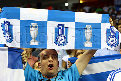 Sep 04, 2010; Istanbul, TURKEY; Defending champions Spain broke open a close game in the fourth quarter and continued their mastery over Greece by winning their Eight-Final showdown at the FIBA World Championship on Saturday. Greek fans.