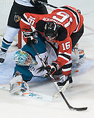 091111 - Lowell Devils at Worcester Sharks