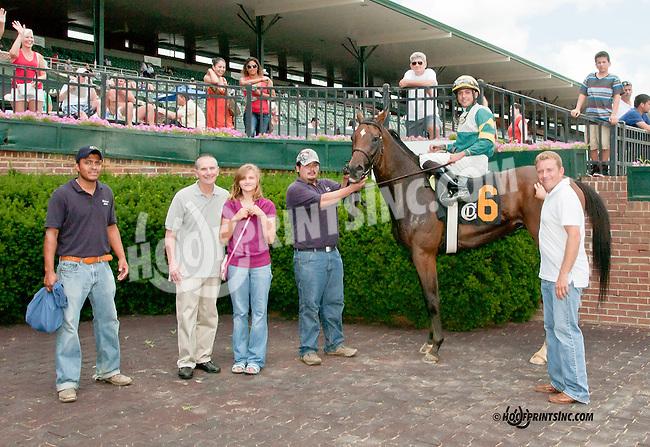 Dr. Drew winning at Delaware Park on 7/4/13