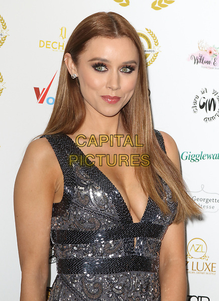 Una Healy at the National Film Awards at the Porchester Hall, London on  Wednesday 28 March 2018 <br /> CAP/ROS<br /> &copy;ROS/Capital Pictures