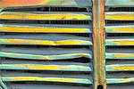 Detail of truck grill, Sprague, Washington