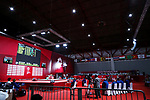 General view, <br /> AUGUST 21, 2018 - Weightlifting : <br /> at JIExpo Kemayoran Hall A <br /> during the 2018 Jakarta Palembang Asian Games <br /> in Jakarta, Indonesia. <br /> (Photo by Naoki Nishimura/AFLO SPORT)