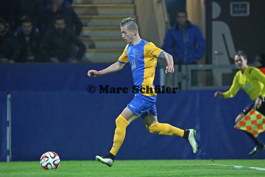 Bersant Celina (Kosovo) - Eintracht Frankfurt vs. Nationalmannschaft Kosovo, Frankfurter Volksbank Stadion