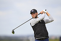 Bradley Bawden (Rochford Hundred) on the 5th tee during Round 1 of the The Amateur Championship 2019 at The Island Golf Club, Co. Dublin on Monday 17th June 2019.<br /> Picture:  Thos Caffrey / Golffile<br /> <br /> All photo usage must carry mandatory copyright credit (© Golffile | Thos Caffrey)