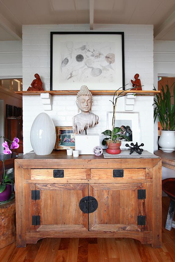 vintage wooden cabinet