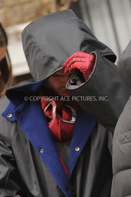 WWW.ACEPIXS.COM . . . . . .February 25, 2013...New York City....Spiderman begins filming in midtown on February 25, 2013 in New York City ....Please byline: KRISTIN CALLAHAN - ACEPIXS.COM.. . . . . . ..Ace Pictures, Inc: ..tel: (212) 243 8787 or (646) 769 0430..e-mail: info@acepixs.com..web: http://www.acepixs.com .