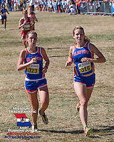 Clalyton's Gabrielle Boeger (316) 11th, and Lauren Indovino (323) 12th
