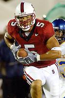 Teyo Johnson during Stanford's 63-26 win over San Jose State on September 14, 2002 at Stanford Stadium.<br />Photo credit mandatory: Gonzalesphoto.com