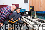 Creation Studio - 'Music From the Heart' opens in Ballinskelligs pictured here at the opening on Friday night were l-r; Gary Murphy & Terry Gordon.