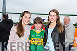 Mairead Sheehy, Roisín Sheehy and Laura Sheehy from Listowel at Kerry GAA Night at Dogs Race of Champions at the Kingdom Greyhound Stadium on Friday