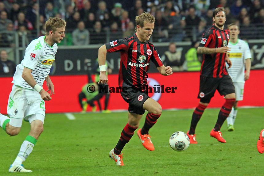 Stefan Aigner (Eintrracht) - Eintracht Franfurt vs. Borussia Mönchengladbach, Commerzbank Arena