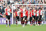 Nederland, Rotterdam, 27 juni 2012.Seizoen 2012-2013.Eerste training Feyenoord.Nieuwe aankopen Ruud Vormer en Daryl Janmaat van Feyenoord