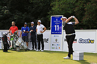 Max Orrin (ENG) on the 11th tee during Round 1 of the Northern Ireland Open at Galgorm Castle Golf Club, Ballymena Co. Antrim. 10/08/2017<br /> Picture: Golffile | Thos Caffrey<br /> <br /> <br /> All photo usage must carry mandatory copyright credit     (&copy; Golffile | Thos Caffrey)