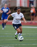 Sky Blue FC forward Monica Ocampo (8).  In a National Women's Soccer League Elite (NWSL) match, Sky Blue FC defeated the Boston Breakers, 3-2, at Dilboy Stadium on June 16, 2013