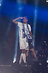 Real Madrid Danilo Luiz Da Silva during the celebration of the 13th UEFA Championship at Santiago Bernabeu Stadium in Madrid, June 04, 2017. Spain.<br /> (ALTERPHOTOS/BorjaB.Hojas)