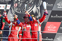 #53 SPIRIT OF RACE (CHE) FERRARI 488 GT3 NIEK HOMMERSON (NDL) LOUIS MACHIELS (BEL) ANDREA BERTOLINI (ITA) THIRD IN PRO AM CUP