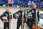 #86 GULF RACING UK (GBR) PORSCHE 911 RSR LMGTE AM MICHAEL WAINWRIGHT (GBR) ADAM CARROLL (GBR) BENJAMIN BARKER (GBR)