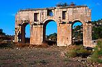 Roman triumphal arch, Patara, Turkey