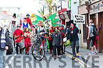 At the Circus Festival Parade in Tralee on Sunday