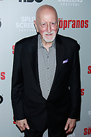 NEW YORK, NY - JANUARY 9: Dominic Chianese  at &ldquo;The Sopranos&quot; 20th Anniversary Panel Discussion at SVA Theater on January 9, 2019 in New York City. <br /> CAP/MPI99<br /> &copy;MPI99/Capital Pictures