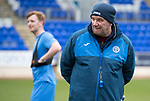 St Johnstone Training….17.03.17<br />Manager Tommy Wright pictured during training this morning at McDiarmid Park ahead of tomorrow's trip to Motherwell.<br />Picture by Graeme Hart.<br />Copyright Perthshire Picture Agency<br />Tel: 01738 623350  Mobile: 07990 594431