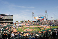 September 17, 2011:  California vs Presbyterian Football game at AT&T Park, San Francisco, Ca   California Defeated Presbyterian 63 - 12