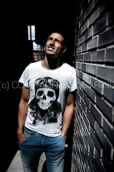 Belgian football player Nacer Chaldi (Holland, 03/08/2012)