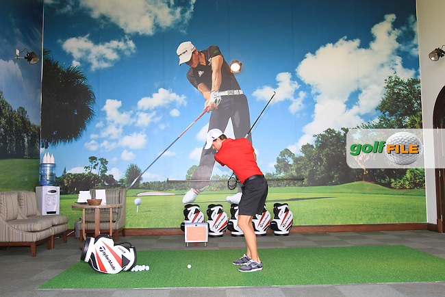 Yas Links Photo Shoot..Picture Fran Caffrey www.golffile.ie