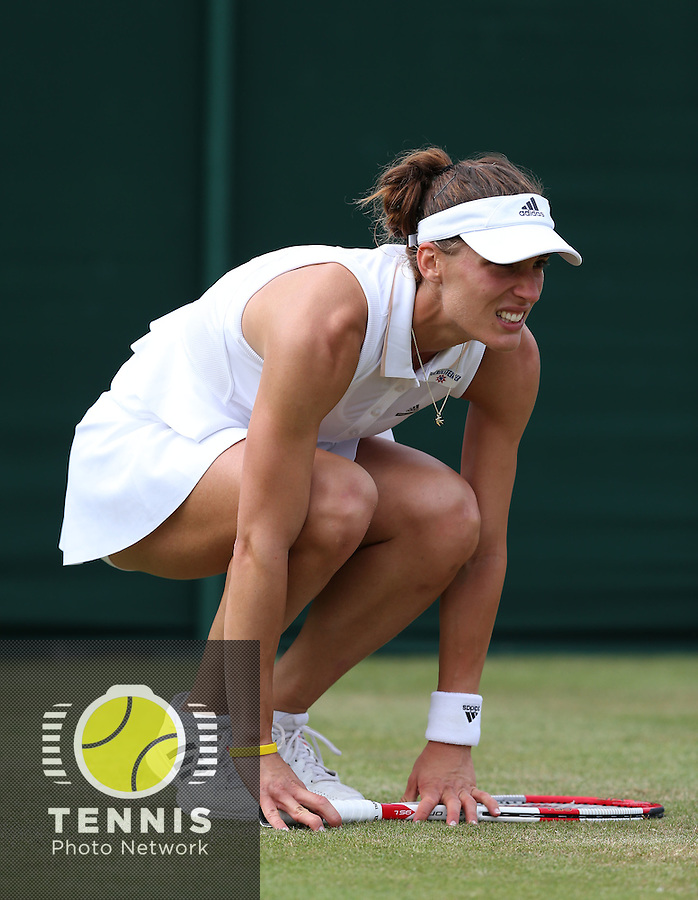 ANDREA PETKOVIC (GER)<br /> The Championships Wimbledon 2014 - The All England Lawn Tennis Club -  London - UK -  ATP - ITF - WTA-2014  - Grand Slam - Great Britain -  26th. June 2014. <br /> <br /> © J.Hasenkopf / Tennis Photo Network