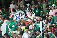 Believe - Pakistan fans during Pakistan vs Bangladesh, ICC World Cup Cricket at Lord's Cricket Ground on 5th July 2019