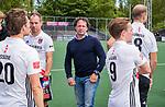 AMSTELVEEN  - coach Jan John van 't Land (Adam).  Hoofdklasse hockey heren ,competitie, heren, Amsterdam-Pinoke (3-2)  . COPYRIGHT KOEN SUYK