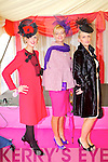 Pictured at Listowel Races, Ladies Day on Friday from left: Aileen Culhane (Glin), Olivia Wall (Ballyroe), Mairead Holly-Egan (Glin).