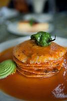 Las Brisas restaurant in Champoton, Campeche, Mexico