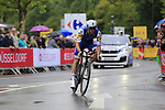 Fabio Sabatini (ITA) Quick-Step Floors in action during Stage 1, a 14km individual time trial around Dusseldorf, of the 104th edition of the Tour de France 2017, Dusseldorf, Germany. 1st July 2017.<br /> Picture: Eoin Clarke | Cyclefile<br /> <br /> <br /> All photos usage must carry mandatory copyright credit (&copy; Cyclefile | Eoin Clarke)