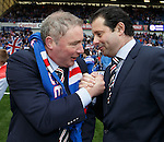 Ally McCoist with CEO Craig Mather