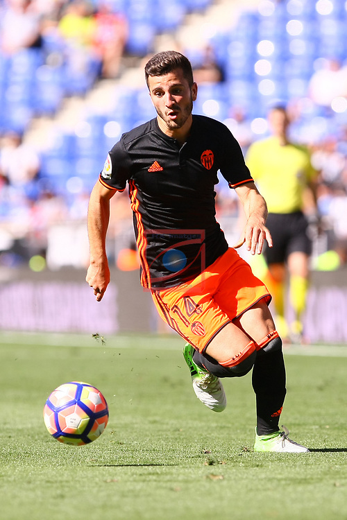 League Santander 2016/2017. Game: 37.<br /> RCD Espanyol vs Valencia CF: 0-1.<br /> Jose Luis Gaya.