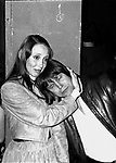 Shelley Duvall & Terry Gilliam attend a party celebrating the release of TIME BANDITS at the Underground Disco in New York City.<br />